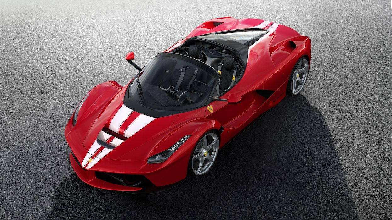 Ferrari Raised 8.3 Million Euros For Charity