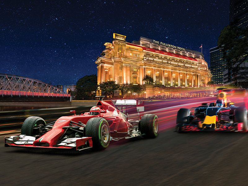 How To Spend The Most Luxurious F1 Weekend