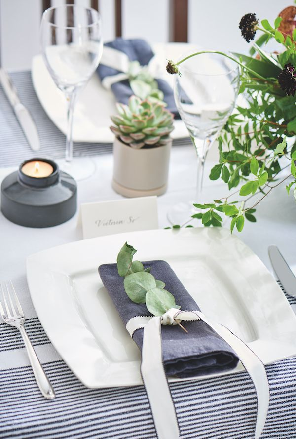 3 Gorgeous Ways To Set A Wedding Table