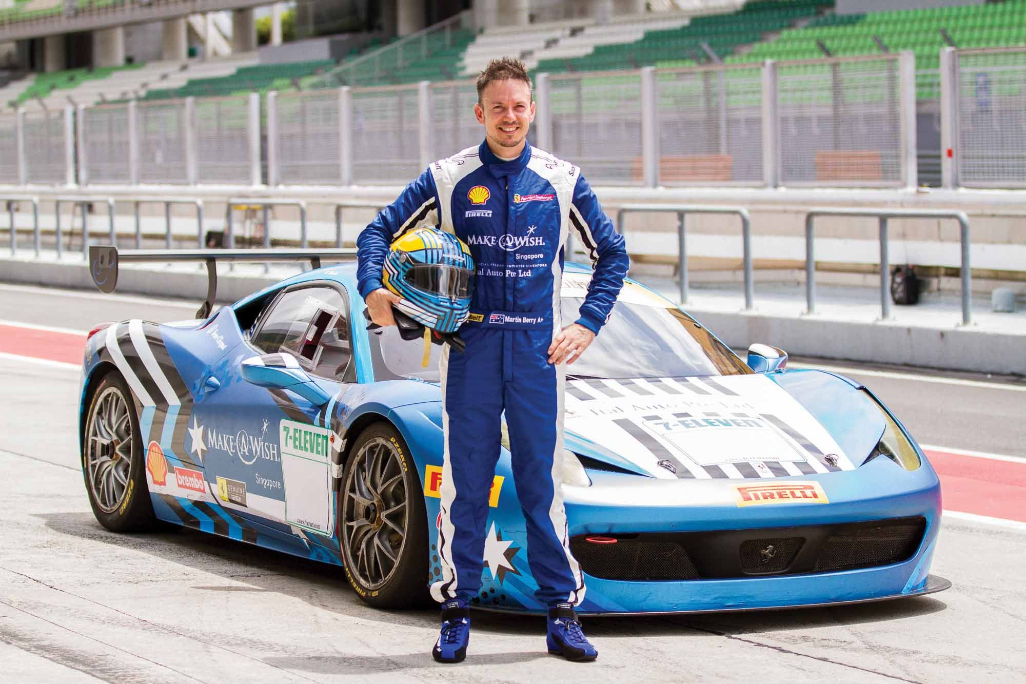 5 Minutes With... Martin Berry, Singapore's Newest Ferrari Challenge Asia-Pacific Driver