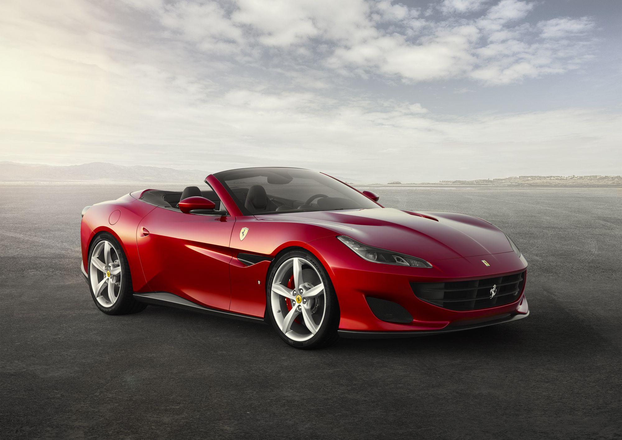Ferrari Unveils The Portofino, An All-New Drop-Top