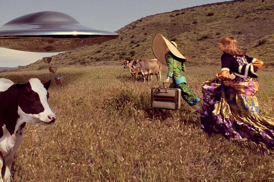 Gucci's Latest Campaign Is Out Of This World