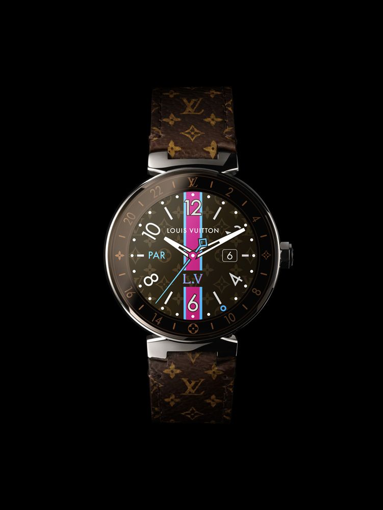 Louis Vuitton Unveils Tambour Horizon, Its First Luxury Smartwatch