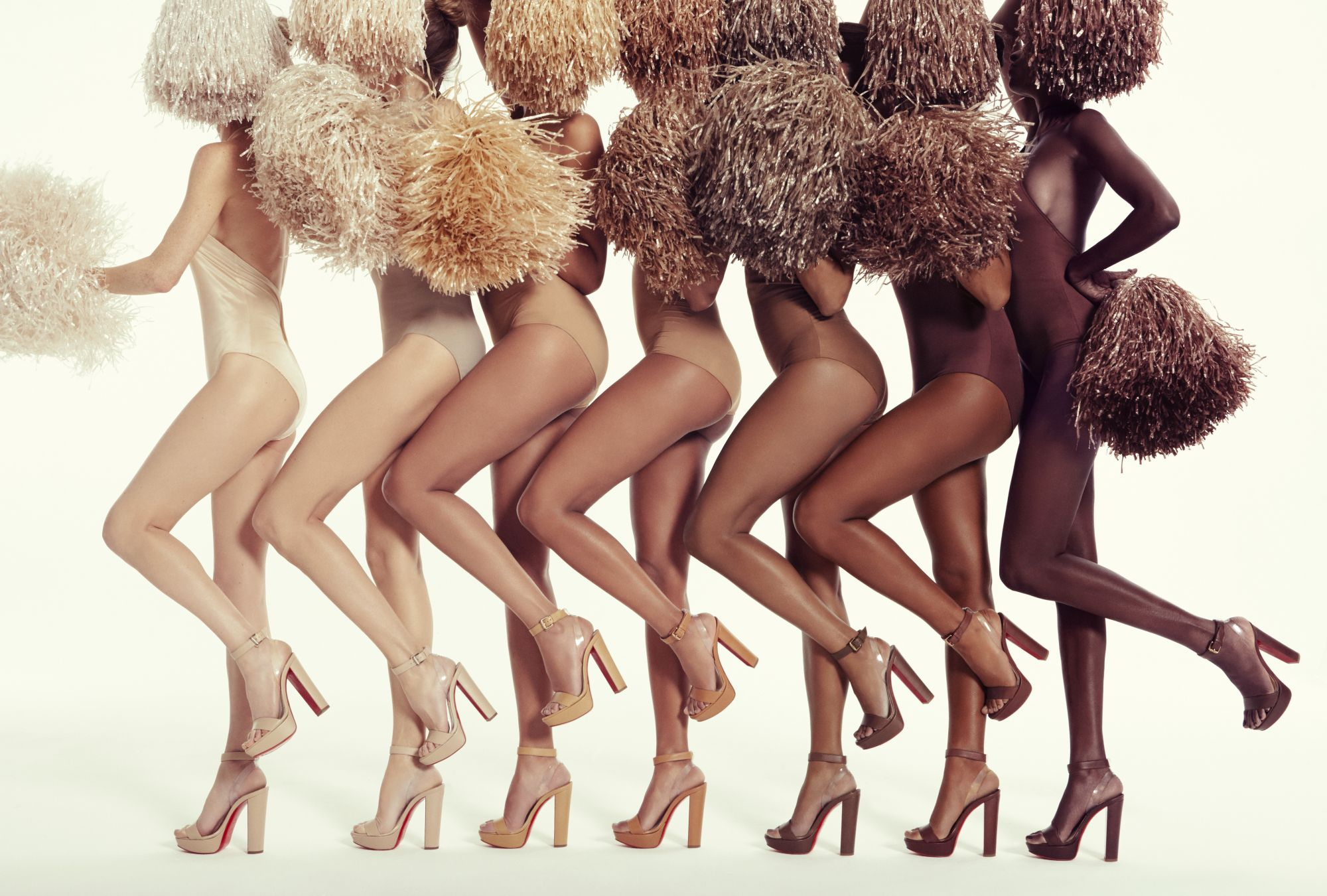 Christian Louboutin Makes Nude Shoes For All Skin Tones
