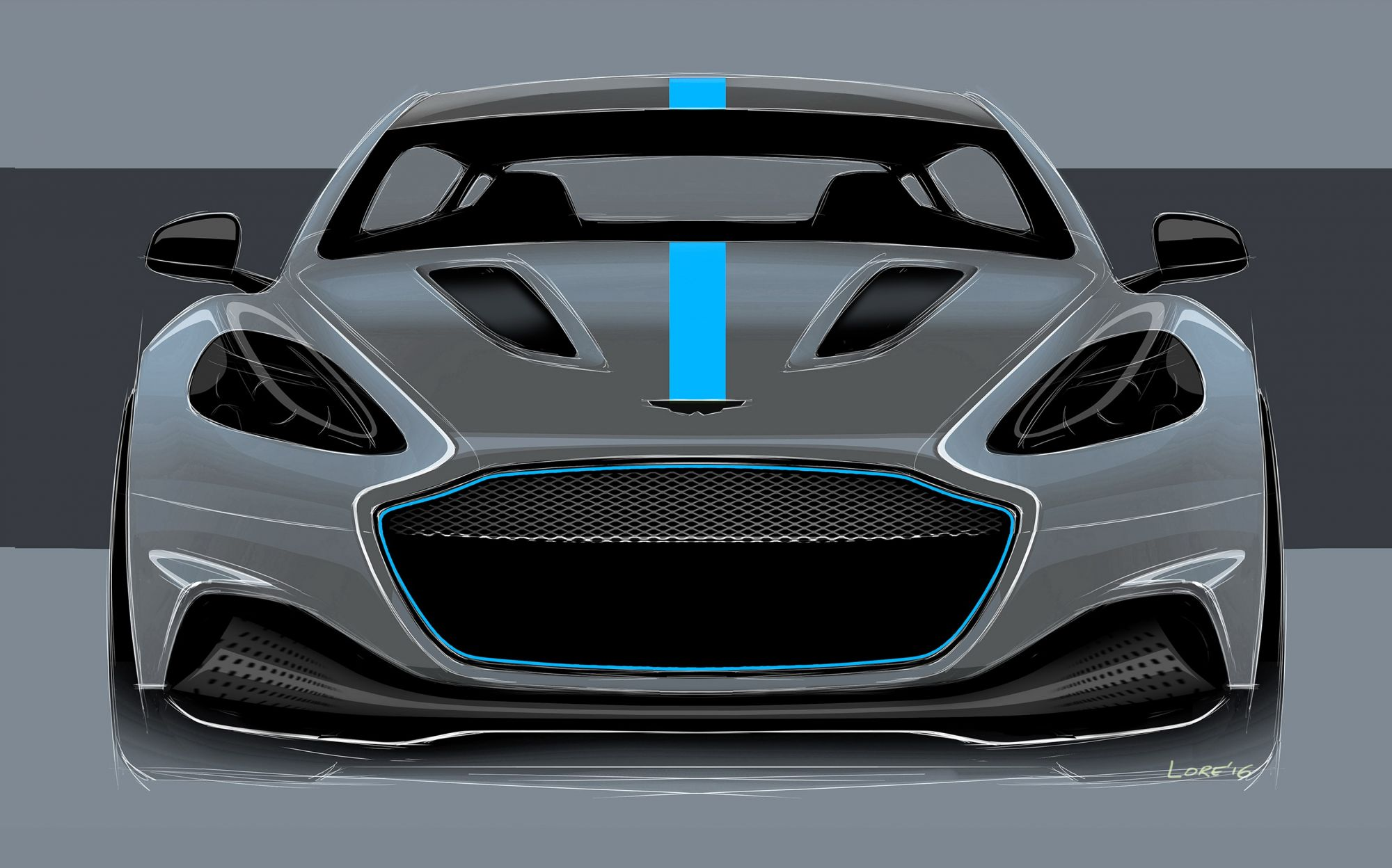 Aston Martin Goes Green With Its First All-Electric RapidE