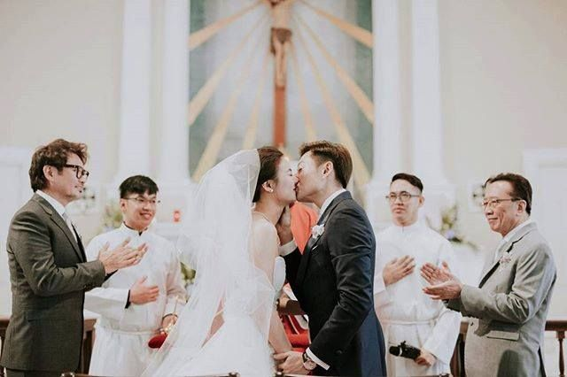 #Tatlergram: Cheryl Wee and Roy Fong's Wedding Ceremony