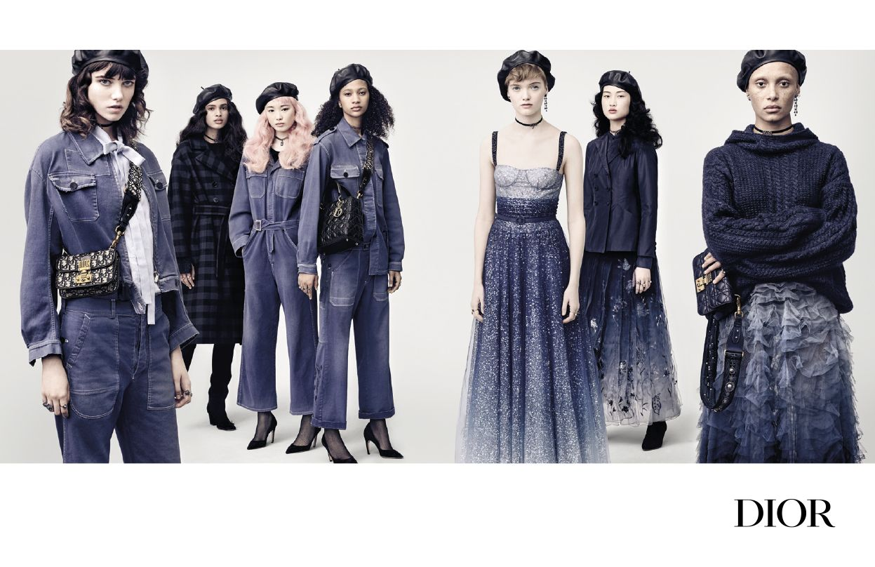 Dior's Autumn/Winter 2017 Campaign Features An Army Of Stylish Women