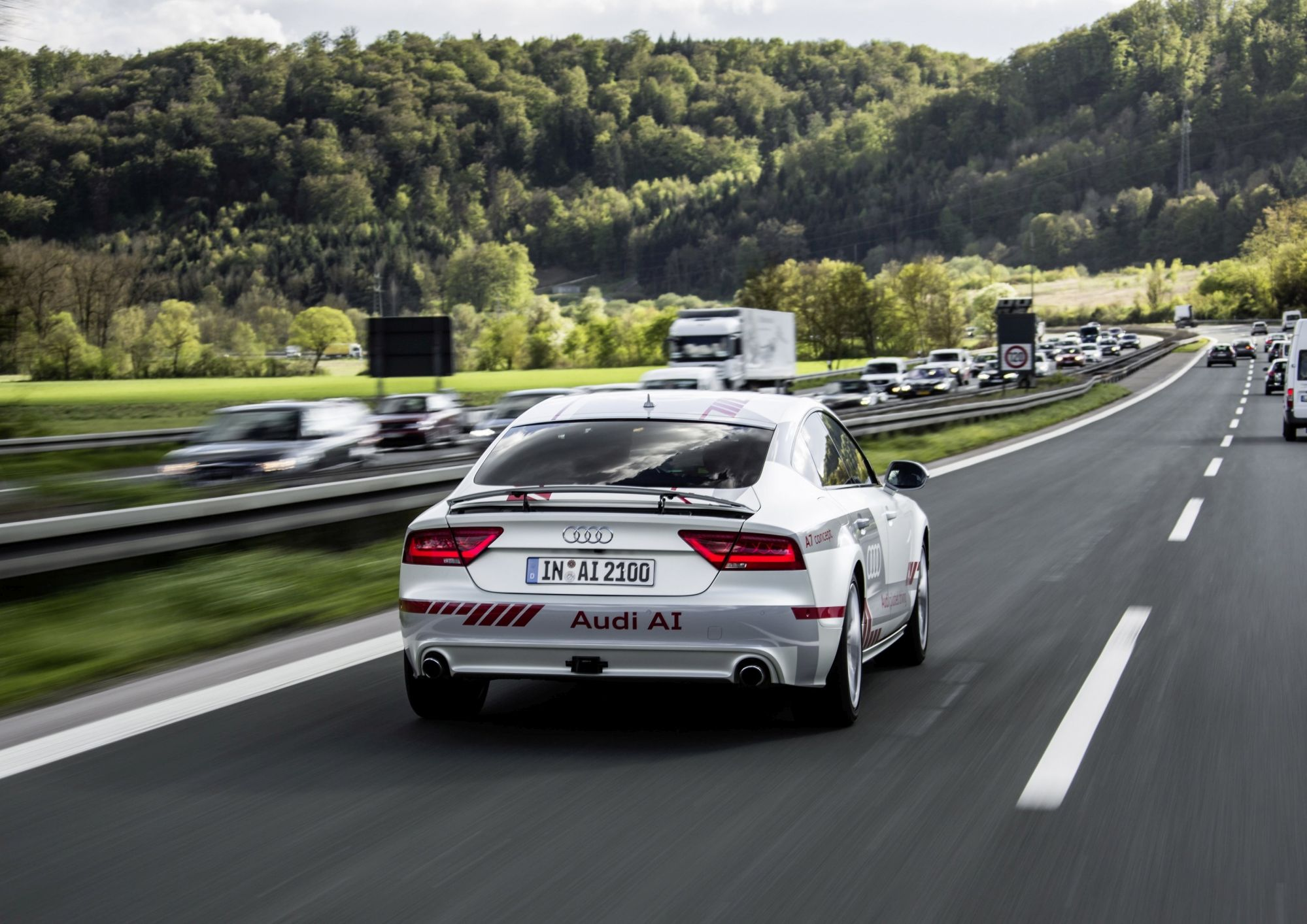 Audi Establishes A Centre Of Research For Self-Driving Cars