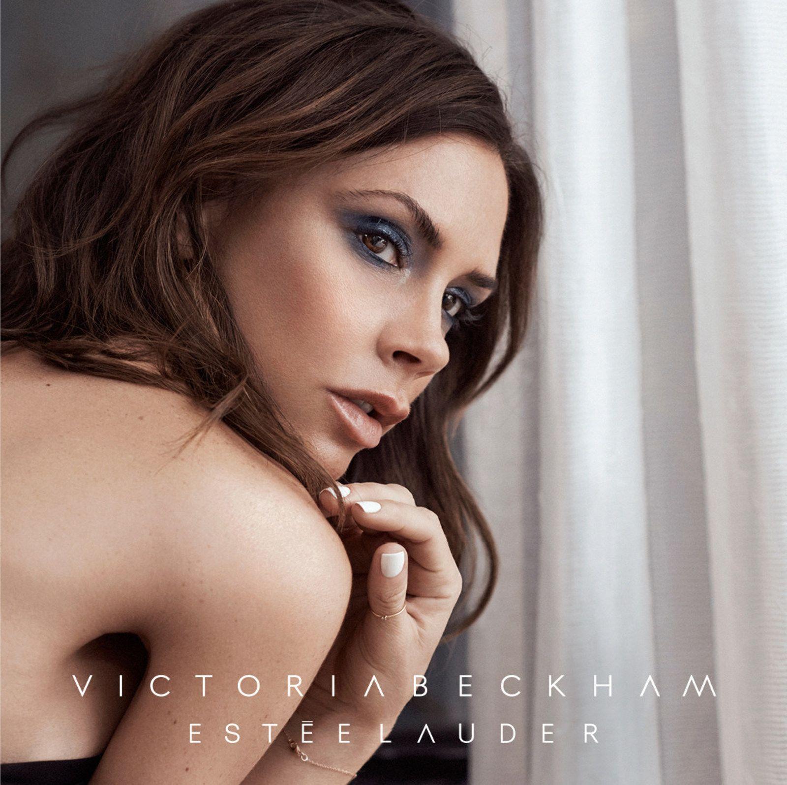 Victoria Beckham Fronts New Estée Lauder Campaign