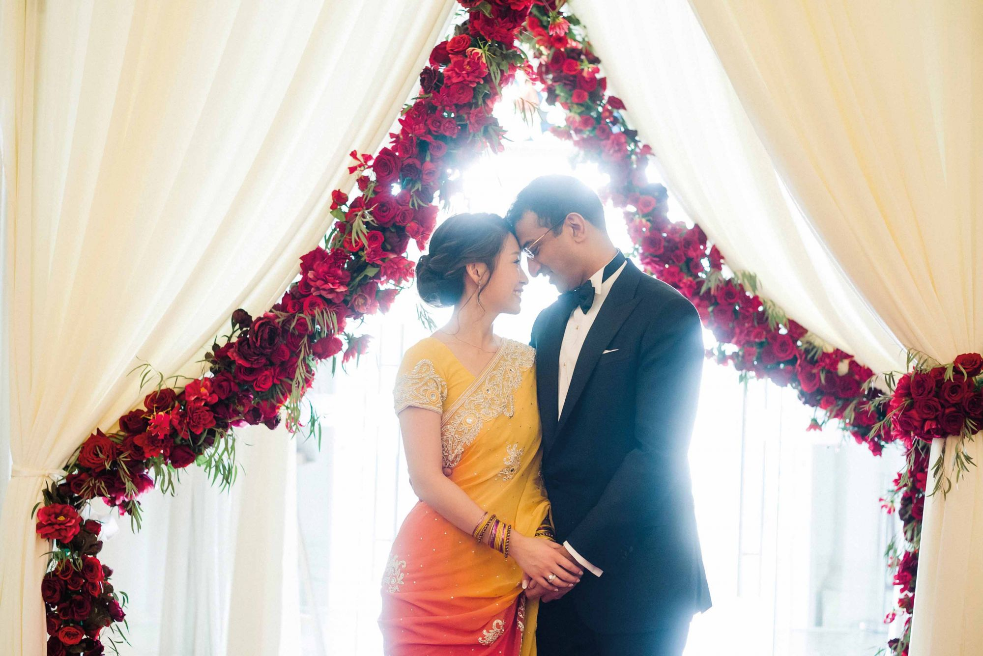 Gold Grandeur: How Lisa Gwee & Ganesh Ramalingam Tied The Knot