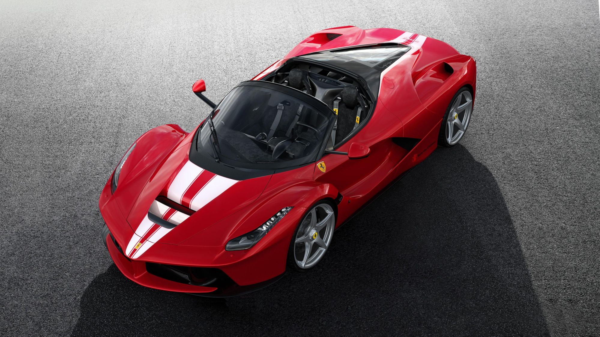 This Ferrari LaFerrari Aperta Will Be Auctioned For Charity