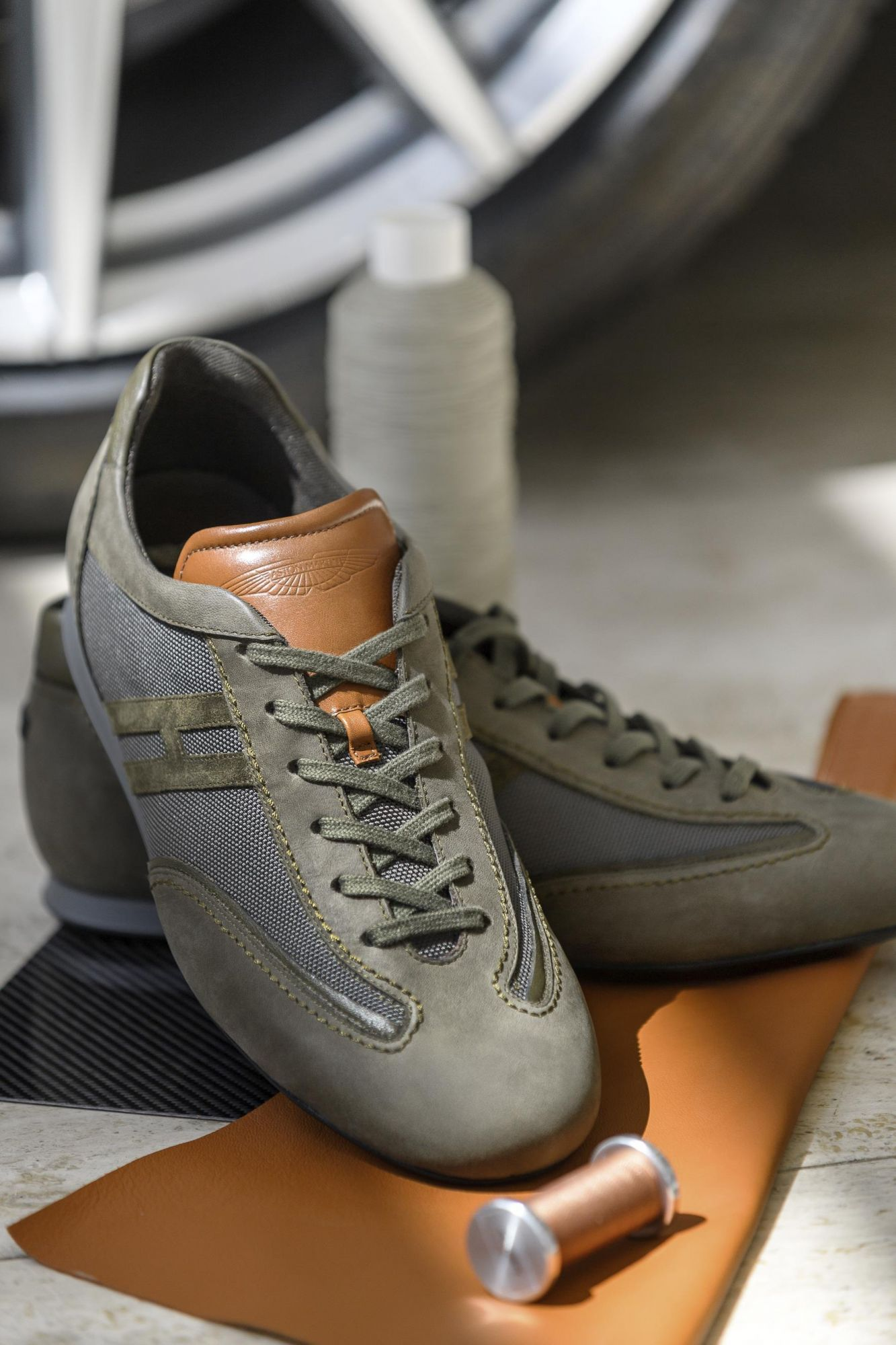You Can Order Sneakers From Aston Martin Soon