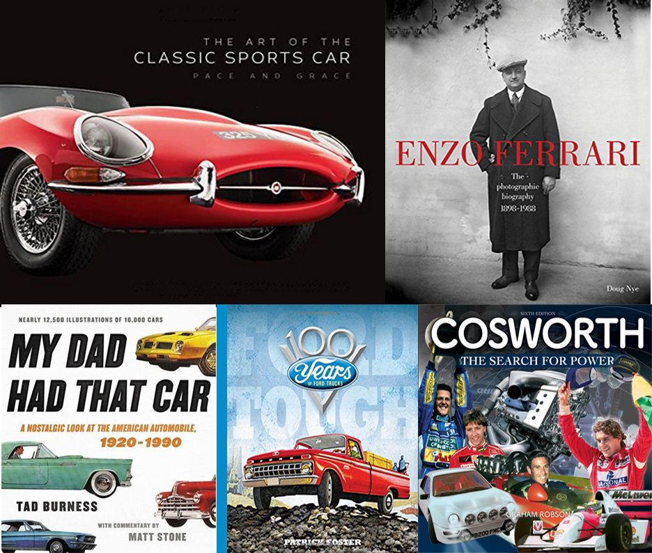 Books For Dads Who Love Cars
