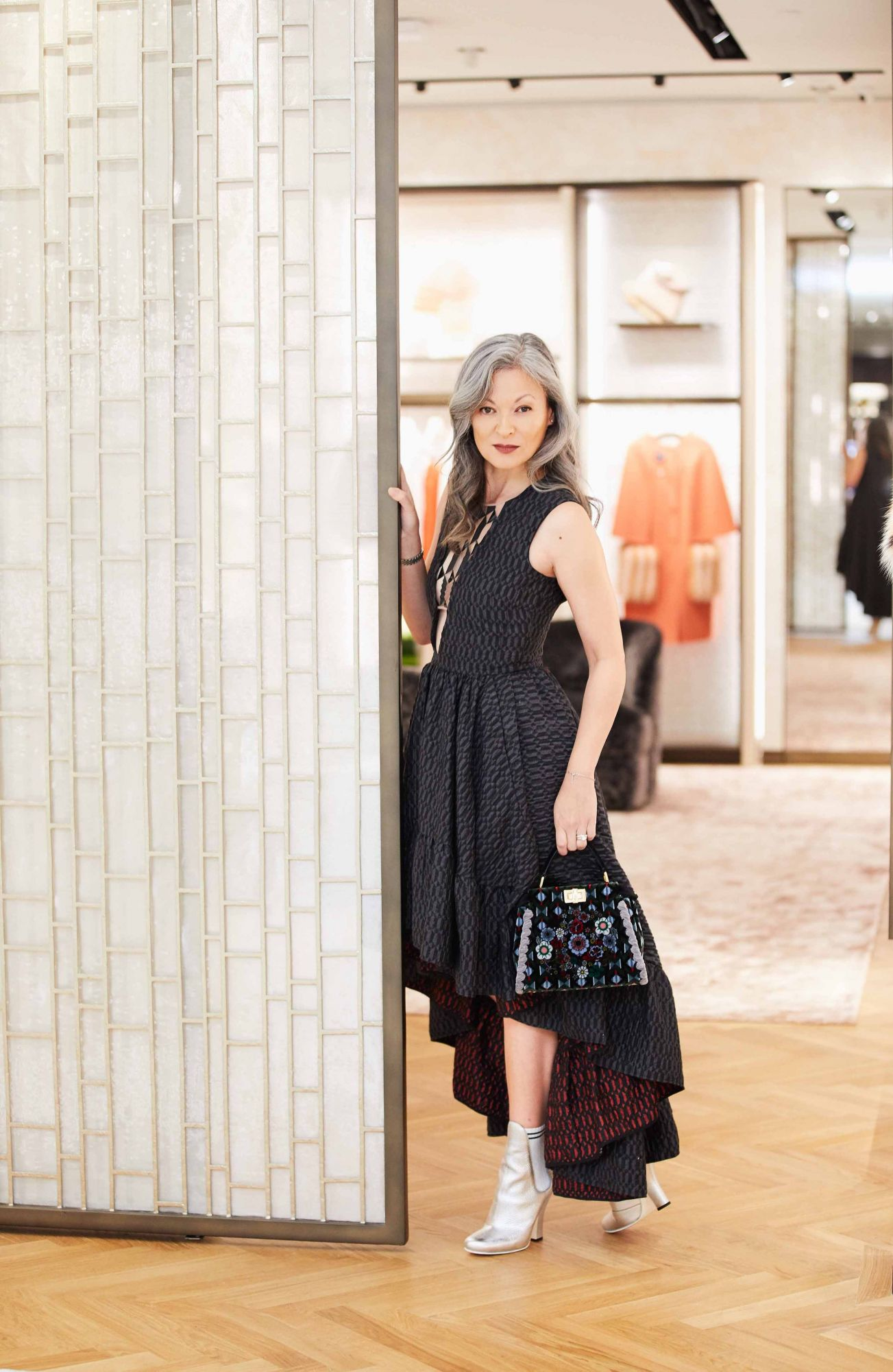 7530cbec13 Margie Van Elten Visits Fendi s Newest Flagship Store