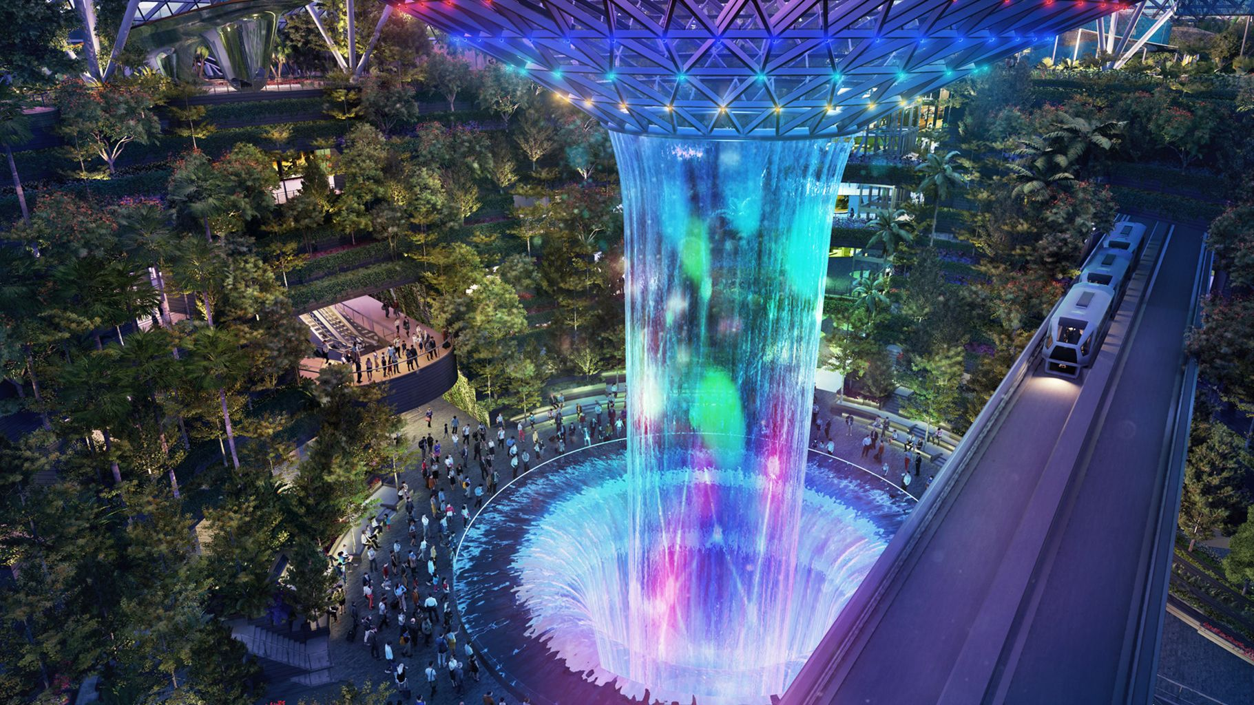 Changi Airport To Build New 'Canopy Park'