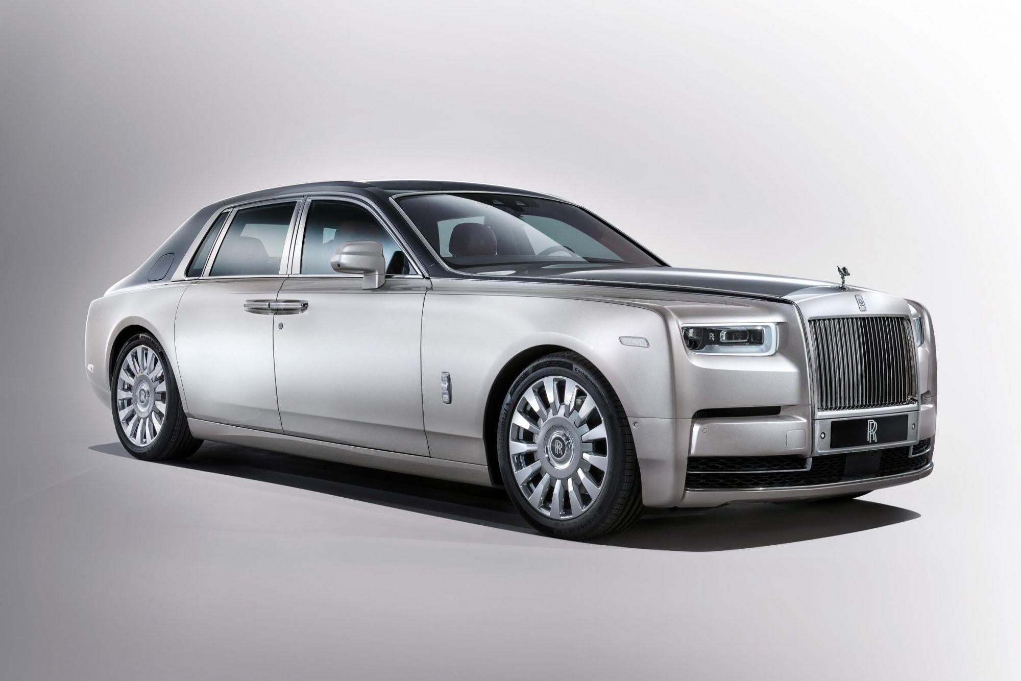 Rolls-Royce Reveals New 2018 Phantom