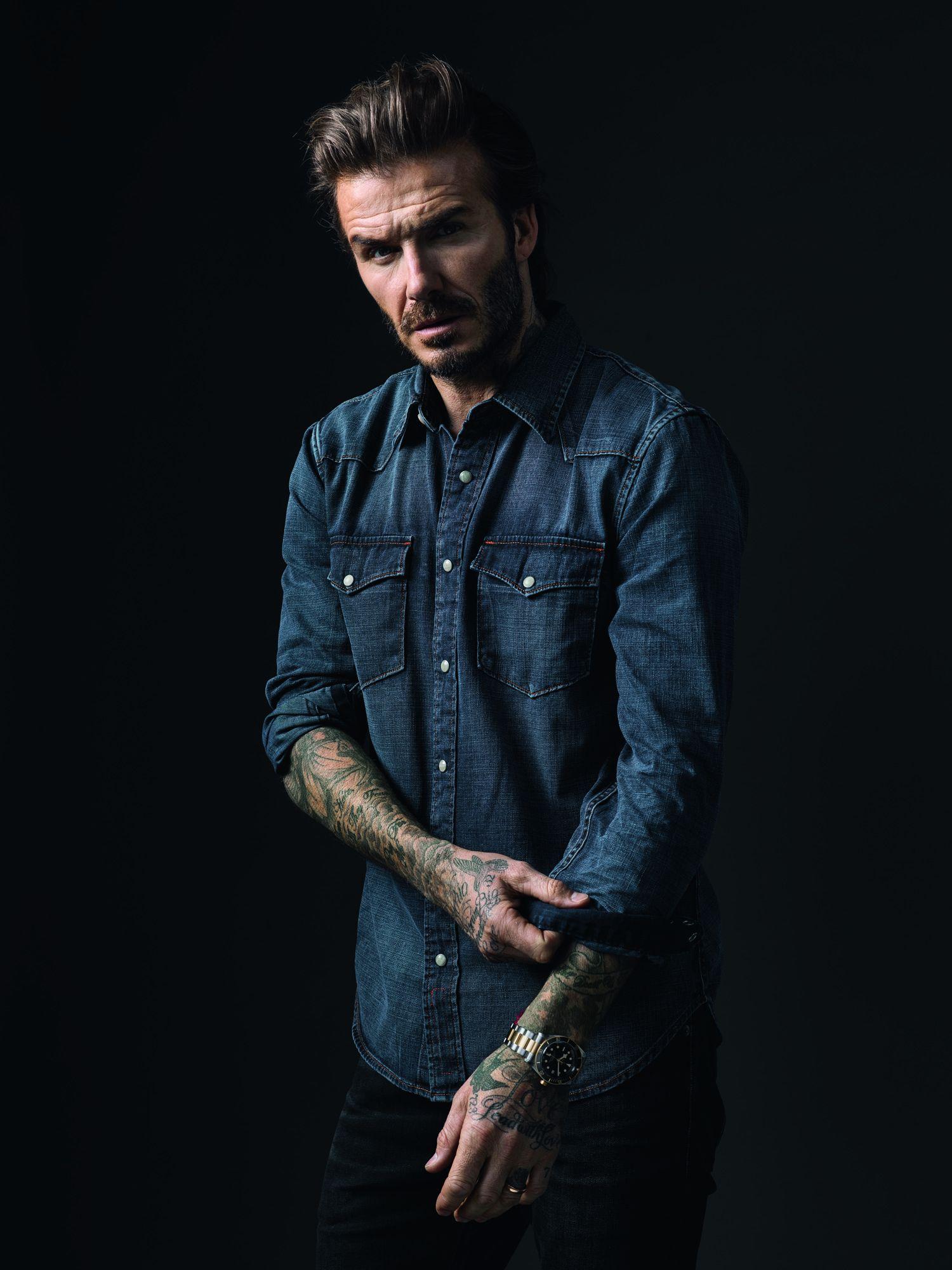 How David Beckham Scores As Tudor's Global Brand Ambassador
