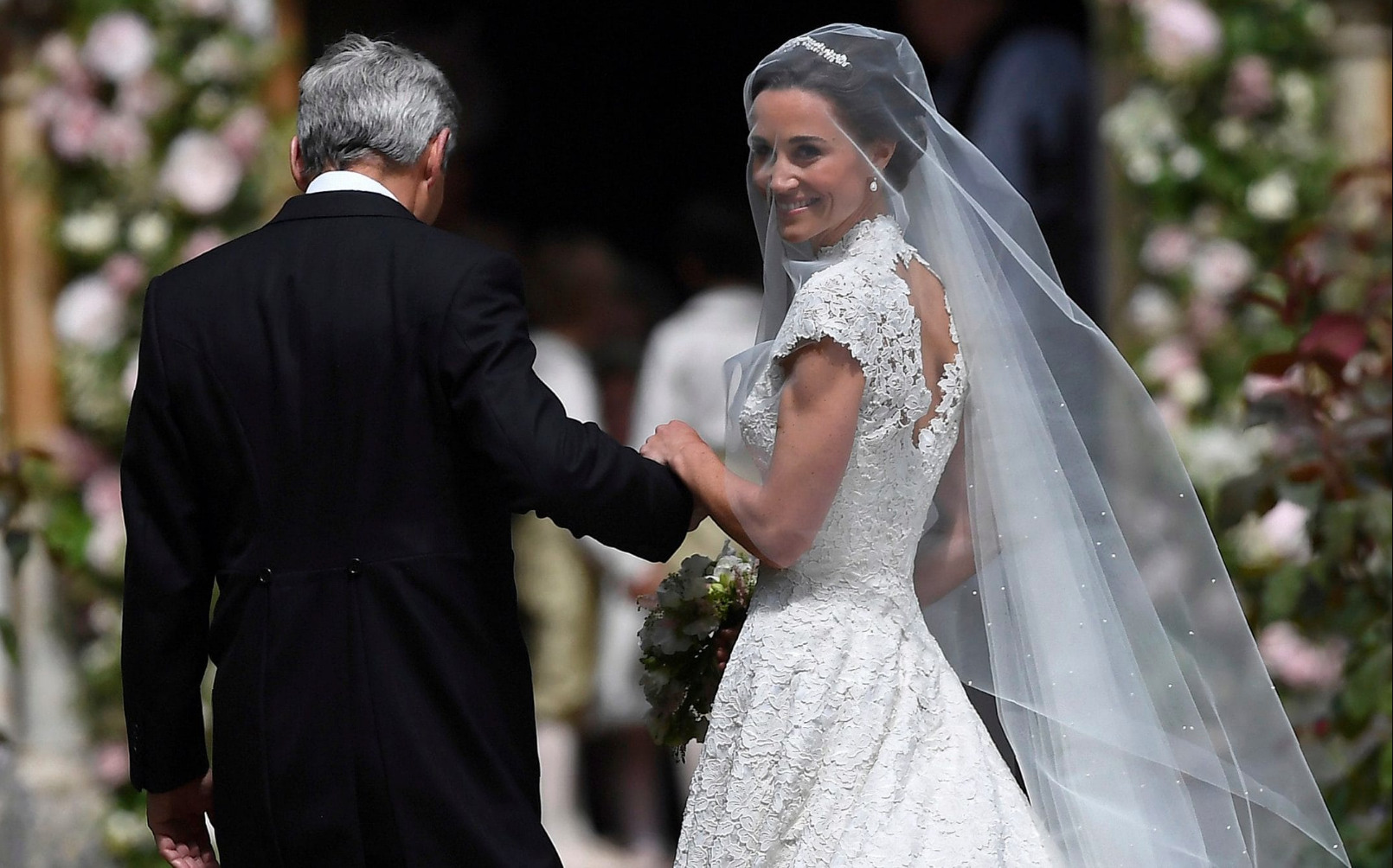 10 Adorable Moments From Pippa Middleton's Wedding