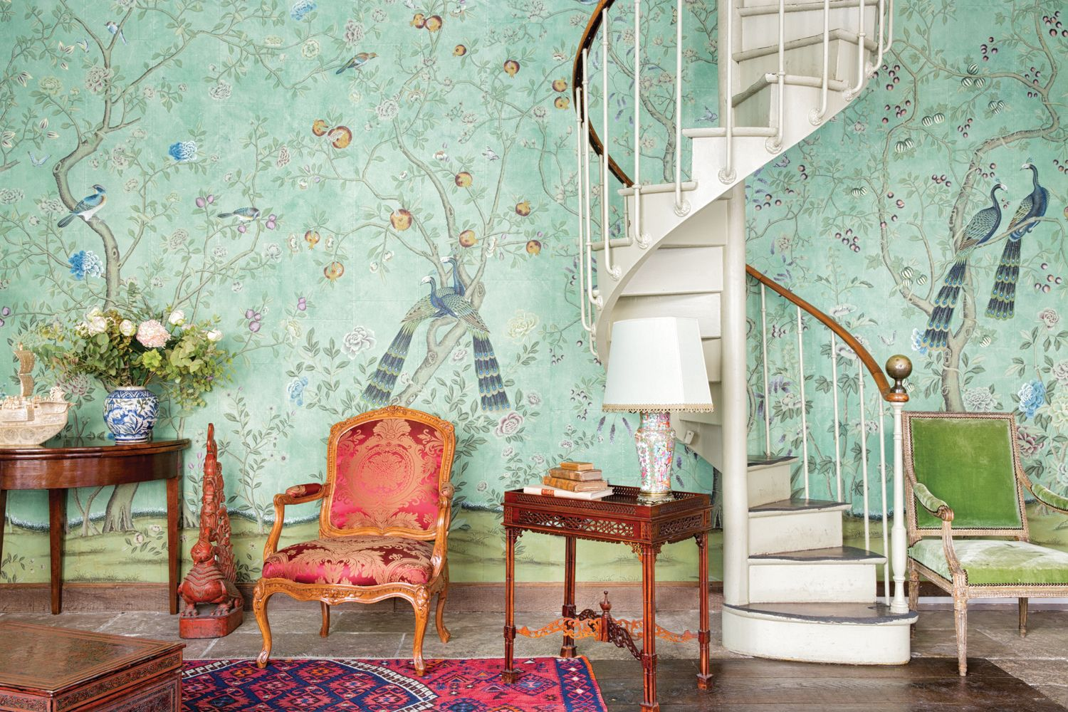 7 Ways To Decorate With Greenery, Pantone's Colour Of The Year