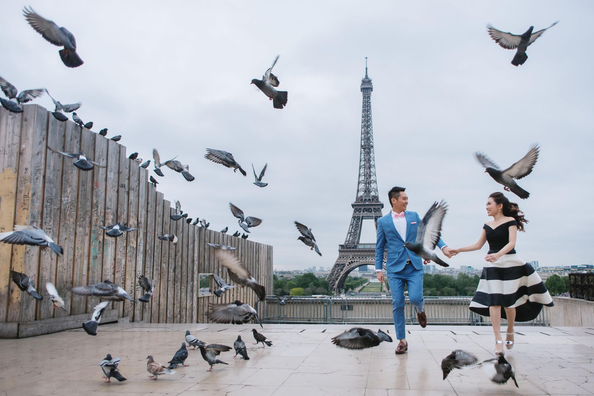 A French Kiss: The Parisian-Inspired Union Of Amanda Goh & Kian Liau