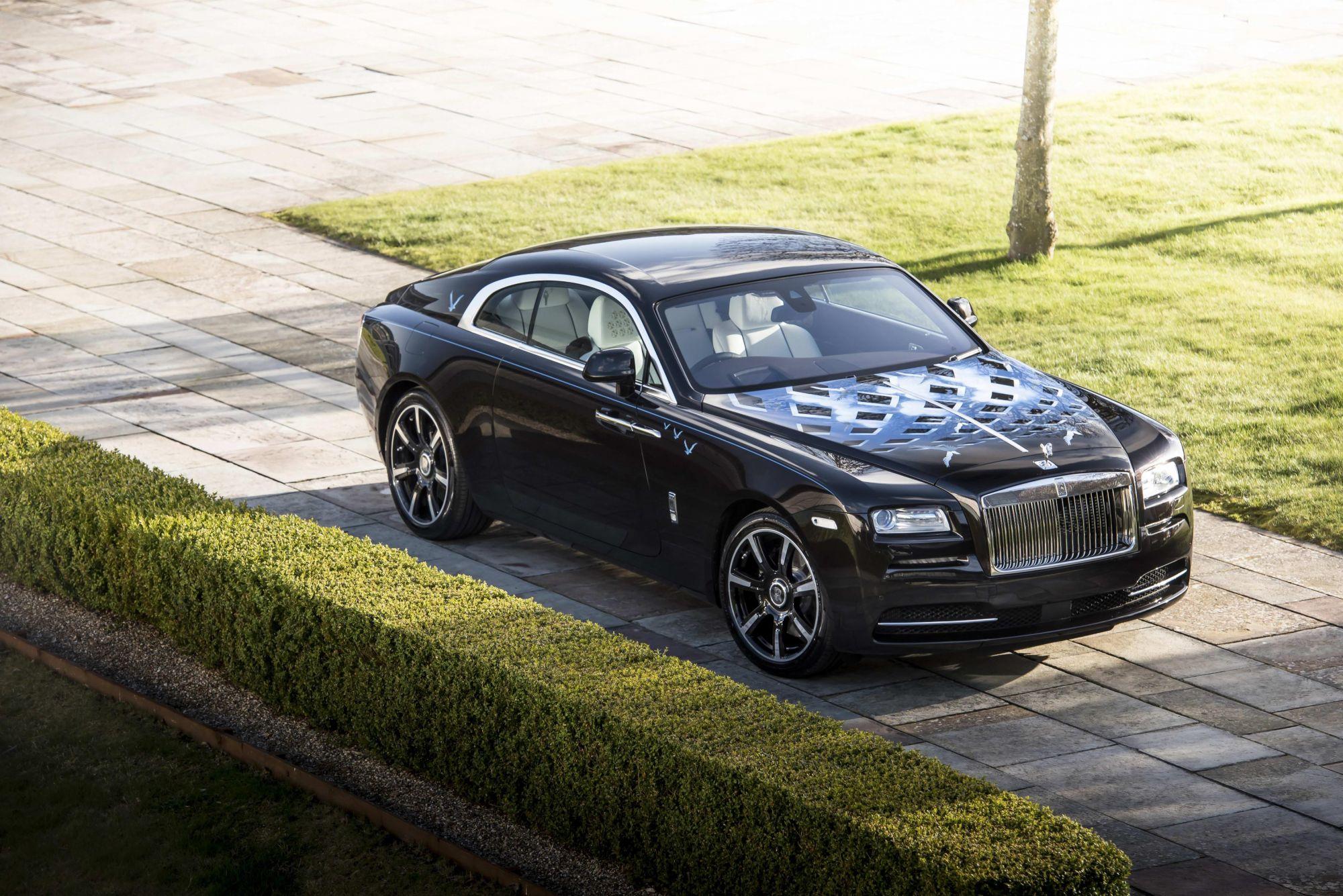 The Rolls-Royce Got Rock Legends To Design Their Car