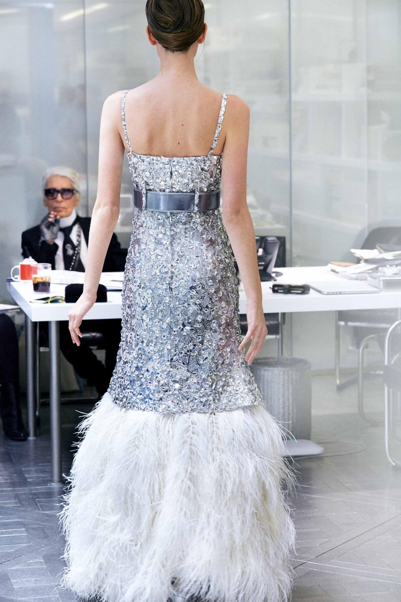 What Goes Into A Chanel Haute Couture Dress?