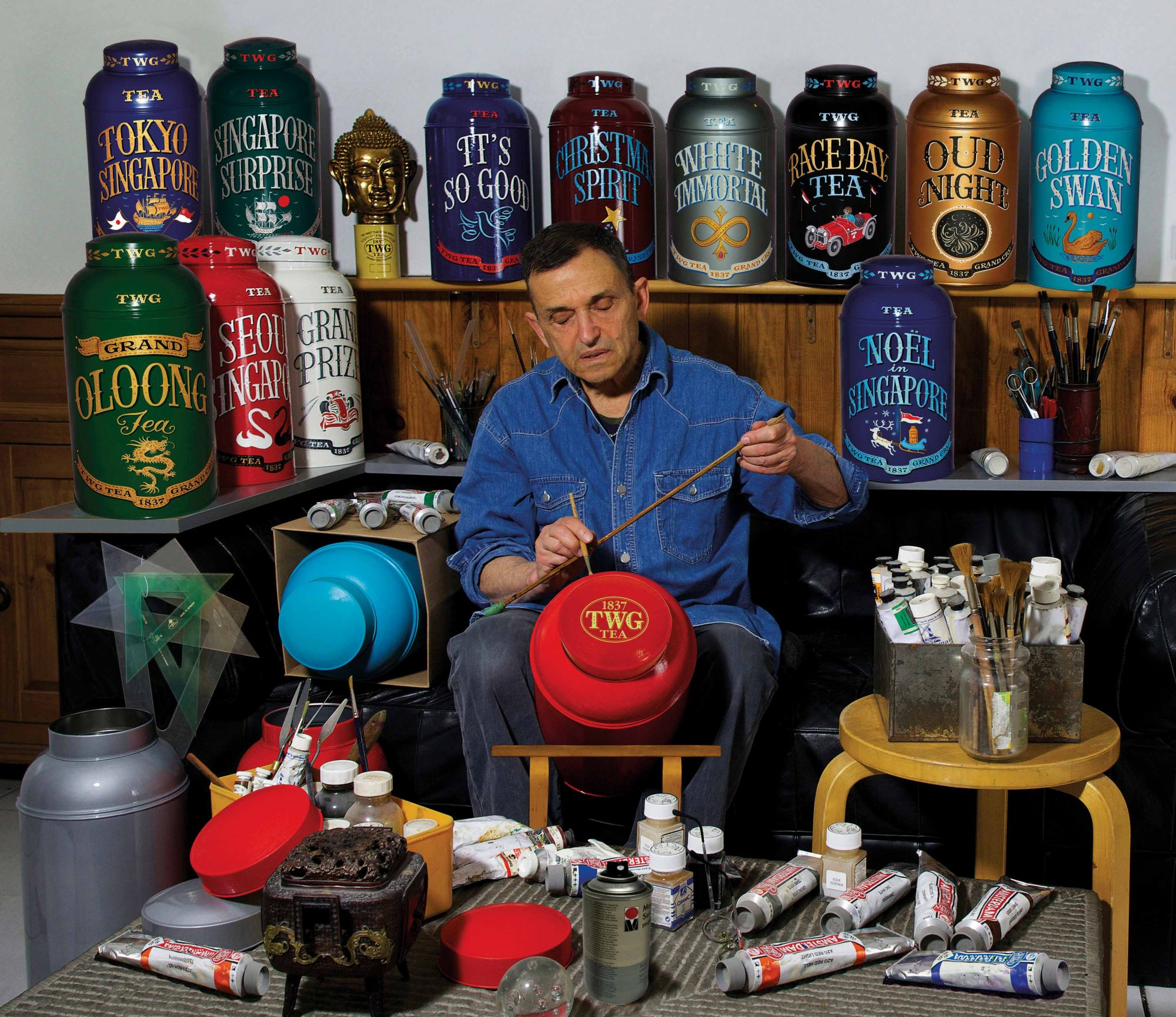 Welcome To The Wonderful, Colourful World Of TWG Tea