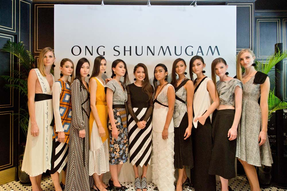 Why We're In Love With Ong Shunmugam's Cruise 2018 Collection