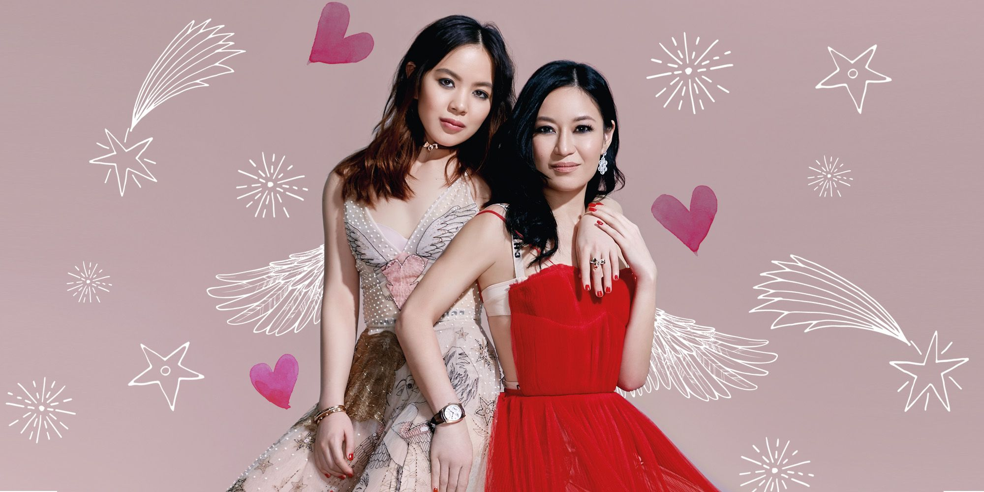 When Two Worlds Collide: Nina & Chloe Ng On Style