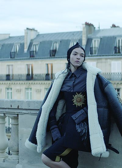Vera Wang Pays Homage To The City Of Light