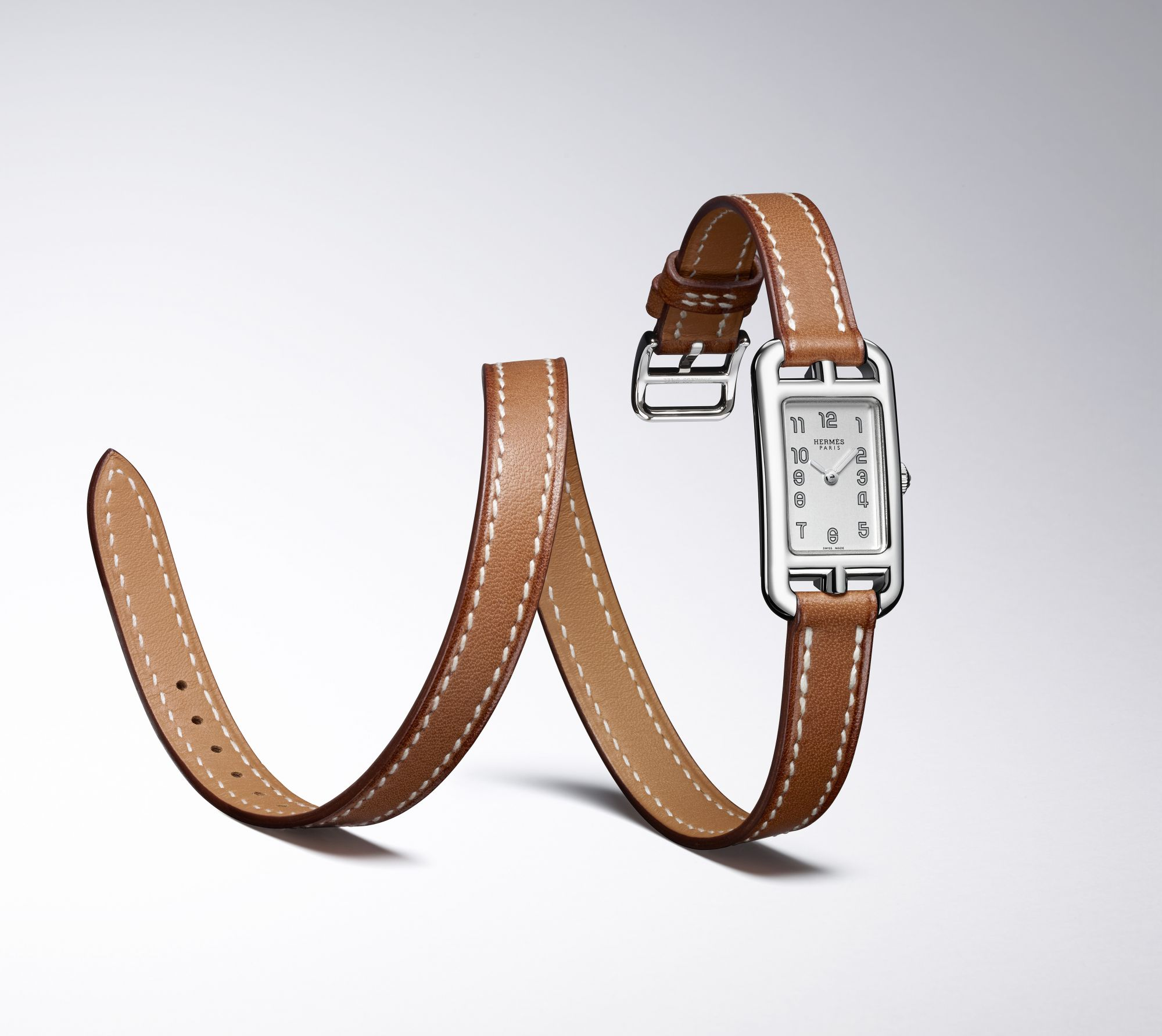 Upsize Your Style Cachet With This Downsized Hermes Watch