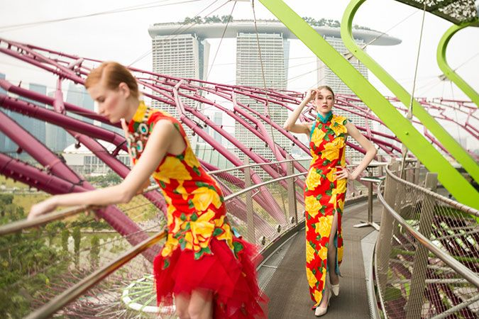 8 Ways To Inject Modern Chinese Sophistication Into Your Wedding Wardrobe