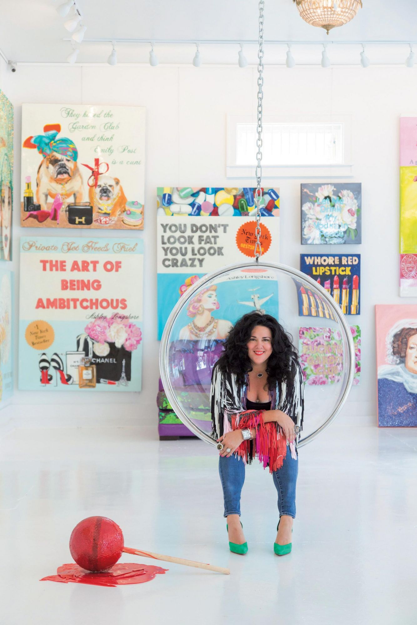Artist Ashley Longshore Just Wants To Have Fun