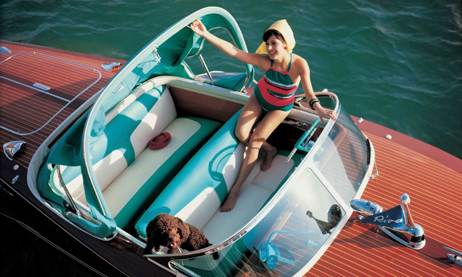 Sail Away On The Luxurious New Riva Yacht