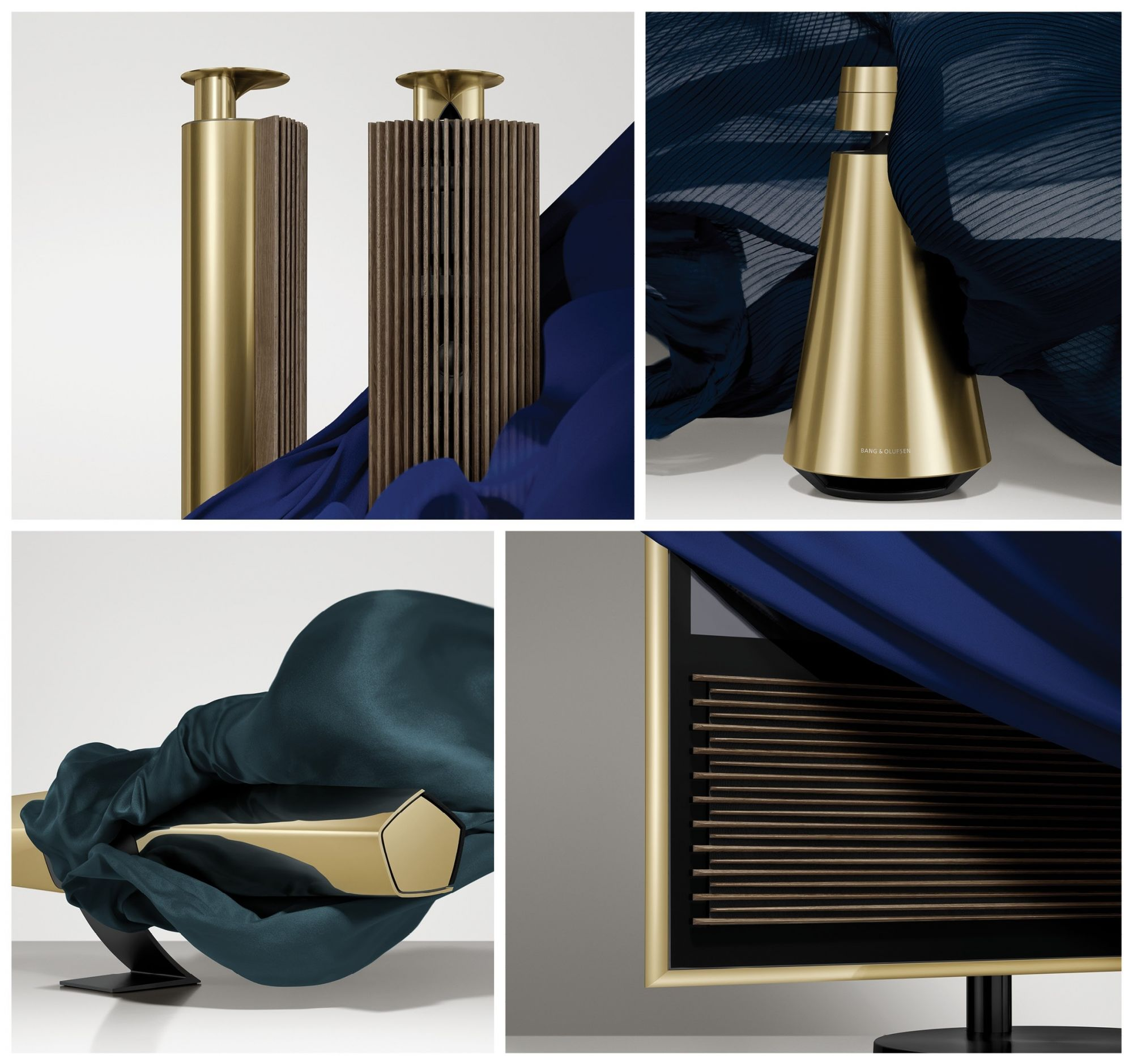Bang & Olufsen's New Collection Matches Modern Technology With Art Deco Design