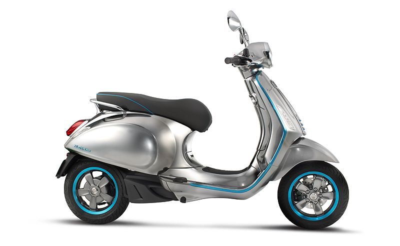 The Vespa Elettrica And Other Electric Motorcycles Of The Future
