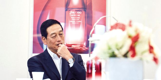 5 Minutes With... President and CEO of Shiseido, Masahiko Uotani