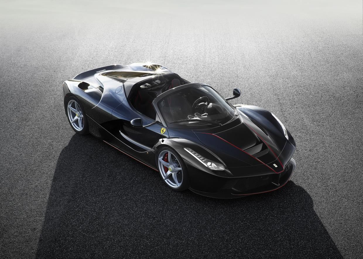 This Is the LaFerrari Drop Top