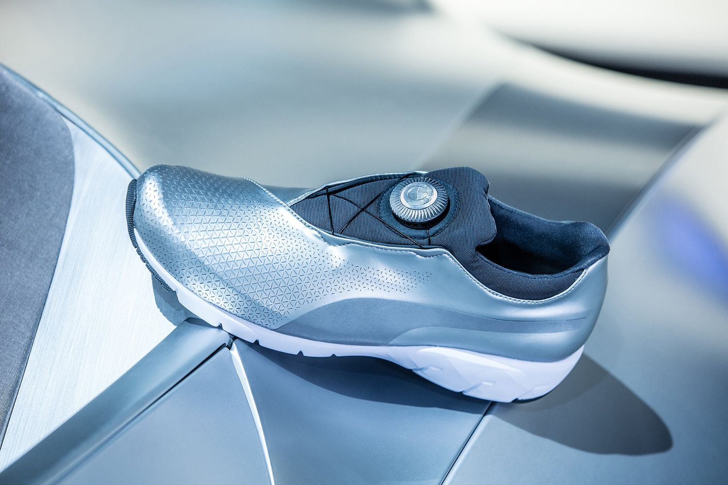 BMW and Puma Combine for a Sneaker with a Concept Car's Soul