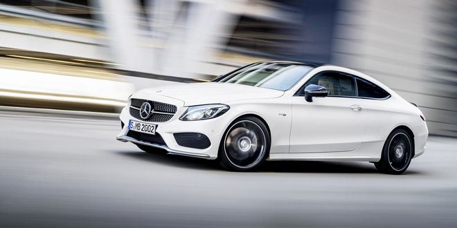 Mercedes' Second AMG C-Class Coupé Goes Big on Performance