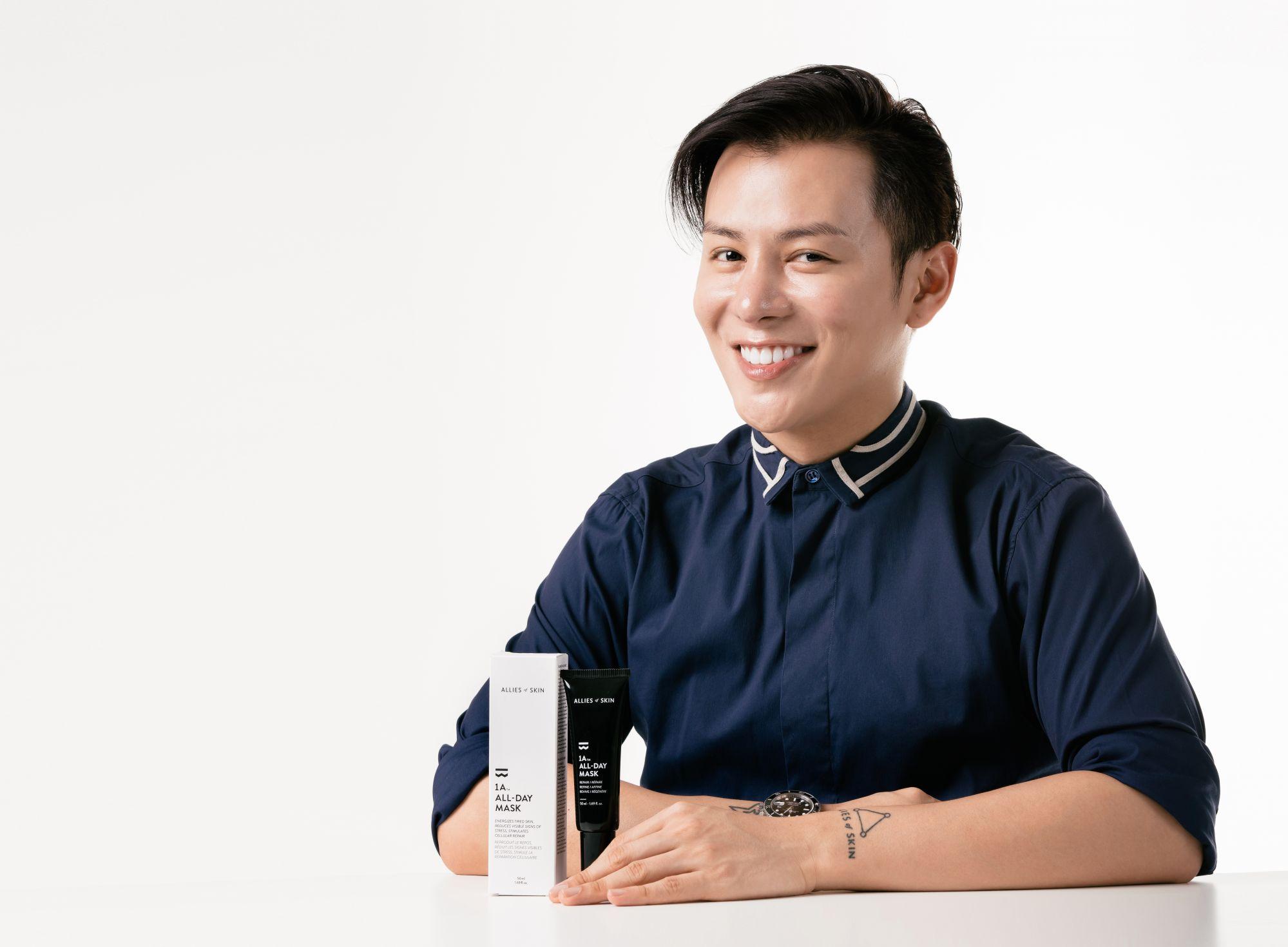 Meet Nicolas Travis, Founder of Singapore's Latest Skincare Brand, Allies of Skin