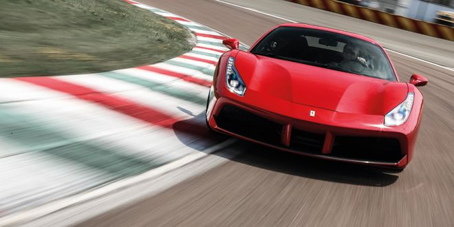 A Ride in the Turbocharged Ferrari 488 GTB