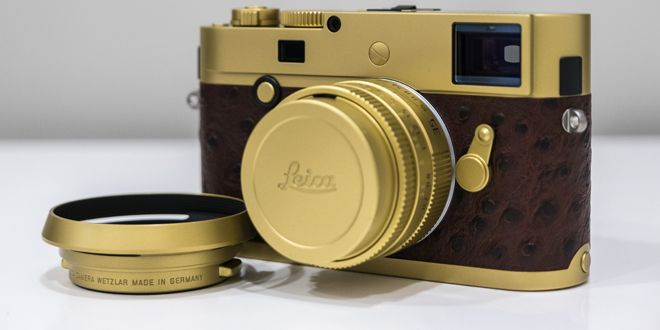 """When Leica Meets The Hour Glass, You Get The """"Brass Edition 35"""""""