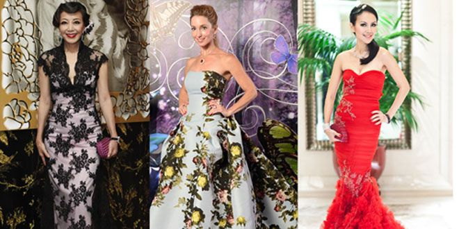 10 standout looks at the Singapore Tatler Ball