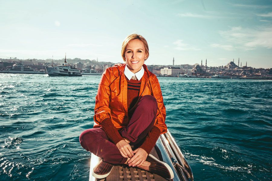 A Day in Istanbul with Tory Burch