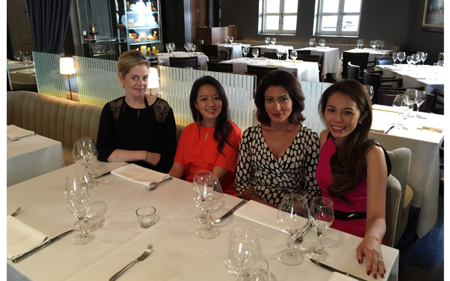 Lunch with Tatler