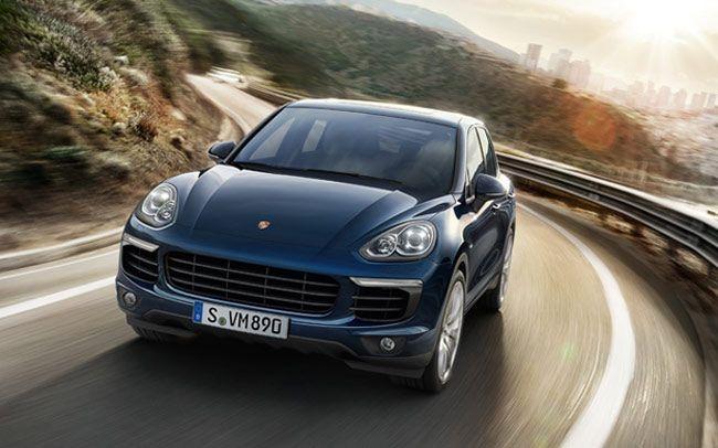 The all new Porsche Cayenne