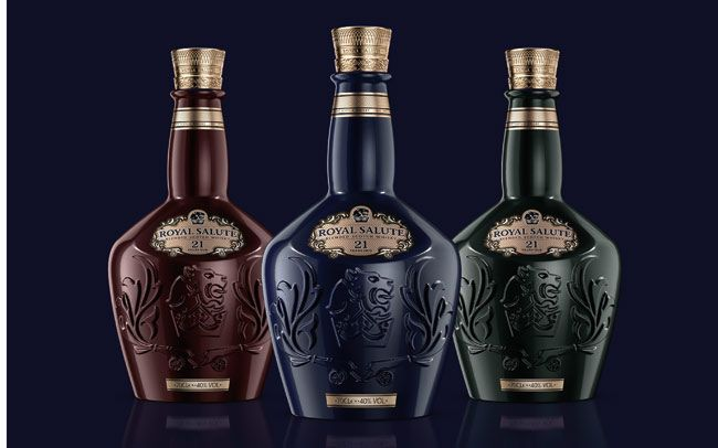Royal Salute whisky unveil new bottle for 21 year expression