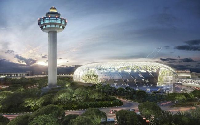 In photos: Jewel Changi Airport
