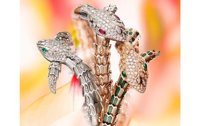 Bulgari add three stunning watches to their Serpenti range